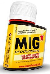 MIG Enamel Oil & Grease Stain Mixture 75ml Bottle (Re-Issue)