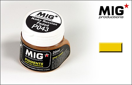 MIG Weathering Pigment Russian Faded Khaki 20ml Bottle (D)