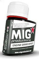 MIG Enamel Engine Grime Effect 75ml Bottle