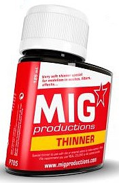 MIG Thinner 125ml Bottle