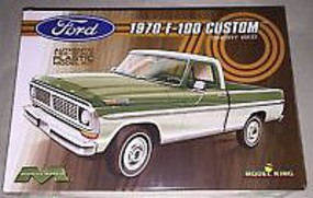 Model-King 1970 Ford F-100 Custom Cab Plastic Model Truck Kit 1/25 Scale #1228
