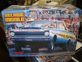 Model-King 1965 Plymouth Melrose Missile Plastic Model Car Kit 1/25 Scale #1229