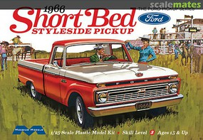 Model-King '66 Ford Short Bed Styleside P/U 1-25