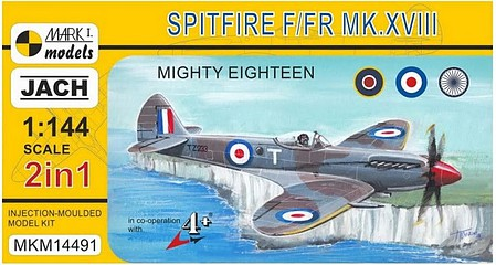 Mark-I 1/144 Spitfire XIII Mighty Eighteen Fighter (2 in 1) (New Tool)