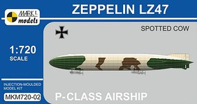 Mark-I 1/720 Zeppelin LZ47 Spotted Cow P-Class German Airship
