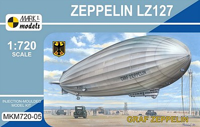 Mark-I 1/720 Zeppelin LZ127 Graf Zeppelin German Airship