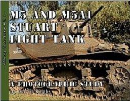 Military-Tech-Books Military Tech Armor #1- M5 & M5A1 Stuart Light Tank