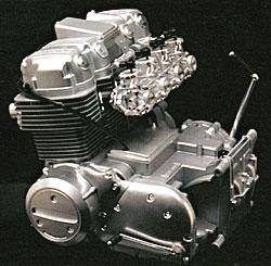 Minicraft Models Honda 750 Engine -- Plastic Model Engine Kit -- 1/3 Scale -- #11202
