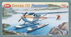 Cessna 172 with Pontoon Plastic Model Airplane Kit 1/48 Scale #11634