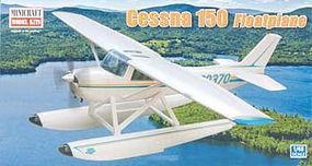 Minicraft Cessna 150 with Floats Bush Plane Plastic Model Airplane Kit 1/48 Scale #11662