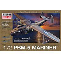 Minicraft PBM-5A USN Post War w/2 Marking Options Plastic Model Airplane Kit 1/72 Scale #11684