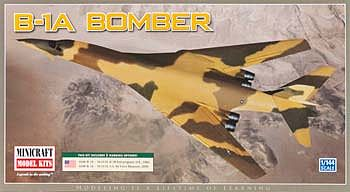 Minicraft Models B1A USAF Bomber -- Plastic Model Airplane Kit -- 1/144 Scale -- #14595