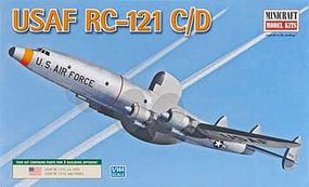 Minicraft RC-121D USAF Plastic Model Airplane Kit 1/144 Scale #14645