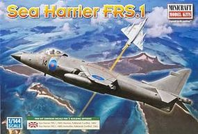 Minicraft Hawker Sea Harrier RAF Plastic Model Airplane Kit 1/144 Scale #14647