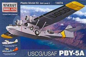 Minicraft PBY USCG Plastic Model Airplane Kit 1/144 Scale #14674