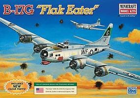 Minicraft B-17G Plastic Model Airplane Kit 1/144 Scale #14683
