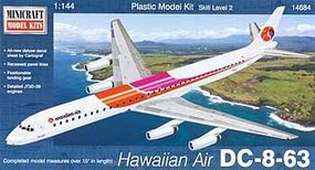 Minicraft DC-8-63 Hawaiian Air Plastic Model Airplane Kit 1/144 Scale #14684