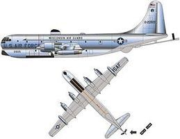 Minicraft KC-97L USAF w/2 Marking Options Plastic Model Airplane Kit 1/144 Scale #14699
