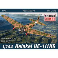 Minicraft 1/144 HE-111 w/2 Marking Options