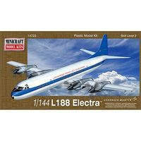 Minicraft 1/144 L188 Electra Demonstrator Aircraft