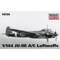 Minicraft 1/144 JU-88 A/C Luftwaffe
