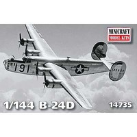 Minicraft 1/144 B24D 8th AF USAAF Aircraft