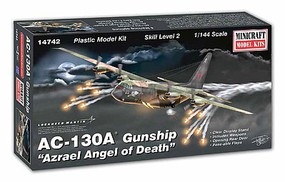Minicraft 1/144 AC130A Gunship Aircraft
