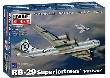 Minicraft B-29 POSTWAR 1-144