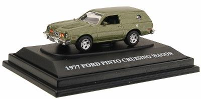 Motor Max 1977 Ford Pinto -- HO Scale Model Railroad Roadway Vehicle -- #8001
