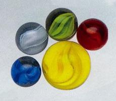 Mega-Marbles Classic Marbles Cats Eye Marble #77658