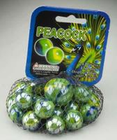 Mega-Marbles Peacock Marbles Marble #77757