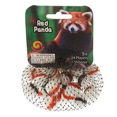 Mega Marbles Red Panda Game Net -- Marble -- #77837