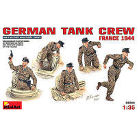 Mini-Art German Tank Crew France 1944 Plastic Model Military Figure 1/35 Scale #35060