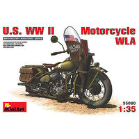 Mini-Art US WW-II MOTORCYCLE WLA 1-35