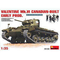 Mini-Art Valentine Mk.6 Canadian-Built Plastic Model Tank Kit 1/35 Scale #35123
