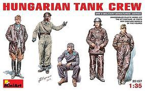 Mini-Art Hungarian Tank Crew Plastic Model Military Figure 1/35 Scale #35157
