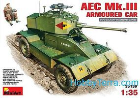 Mini-Art 1/35 AEC Mk III Armored car