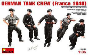 Mini-Art GERMAN TANK CREW FRANCE 1-35
