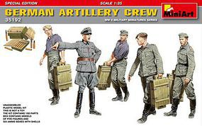 Mini-Art GERMAN ARTILLERY CREW 1-35