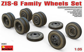 Mini-Art ZIS-6 FAMILY WHEELS SET 1-35