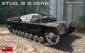 Mini-Art 1/35 Stug III O-Series Tank (New Tool)