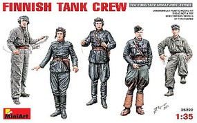 Mini-Art 1/35 Finnish Tank Crew (5) (ETA mid 2017)