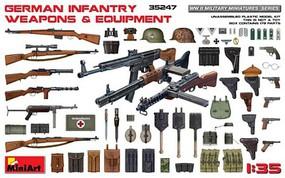 Mini-Art 1/35 German Infantry Weapons & Equipment
