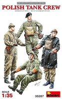 Mini-Art Polish Tank Crew(4) 1-35