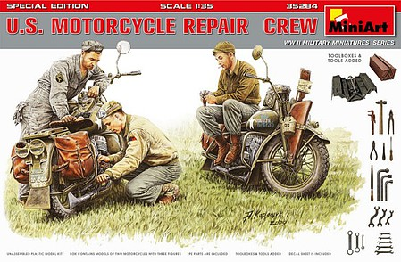 Mini-Art US Motorcycle RepairCrew(3)-35
