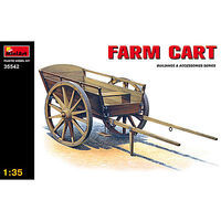 Mini-Art Farm Cart Plastic Model Military Diorama Kit 1/35 Scale #35542