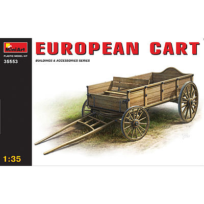 Mini-Art European Cart Plastic Model Diorama 1/35 Scale #35553