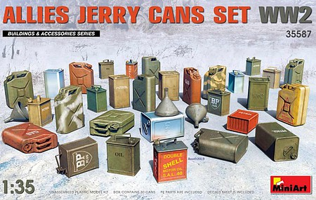 Mini-Art Allies Jerry Cans Set(30) 1-35