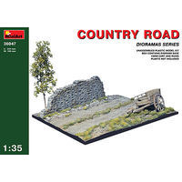 Mini-Art Country Road Plastic Model Diorama 1/35 Scale #36047