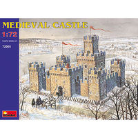 Mini-Art Medieval Castle Plastic Model Building Kit 1/72 Scale #72005